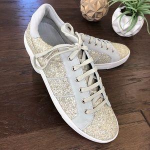 Joie Sparkly Dakota Sneaker Size 39